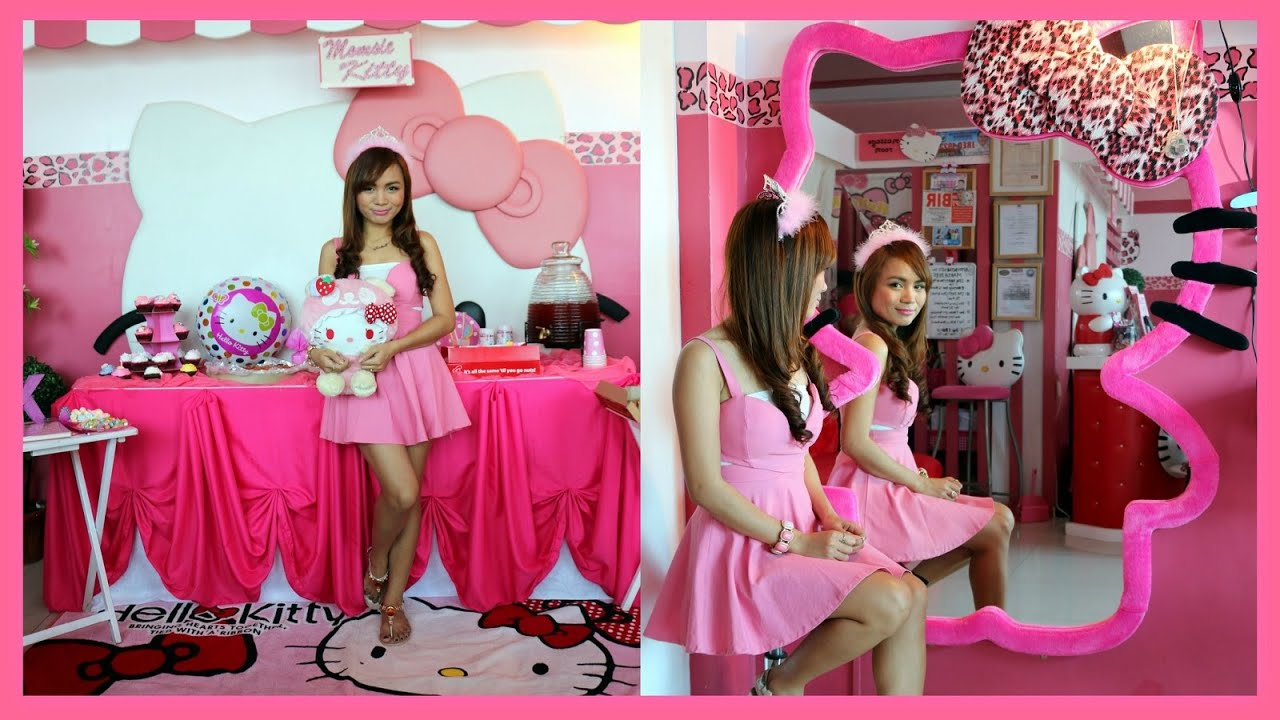 Filipino Vlog My Hello Kitty Birthday Party Youtube