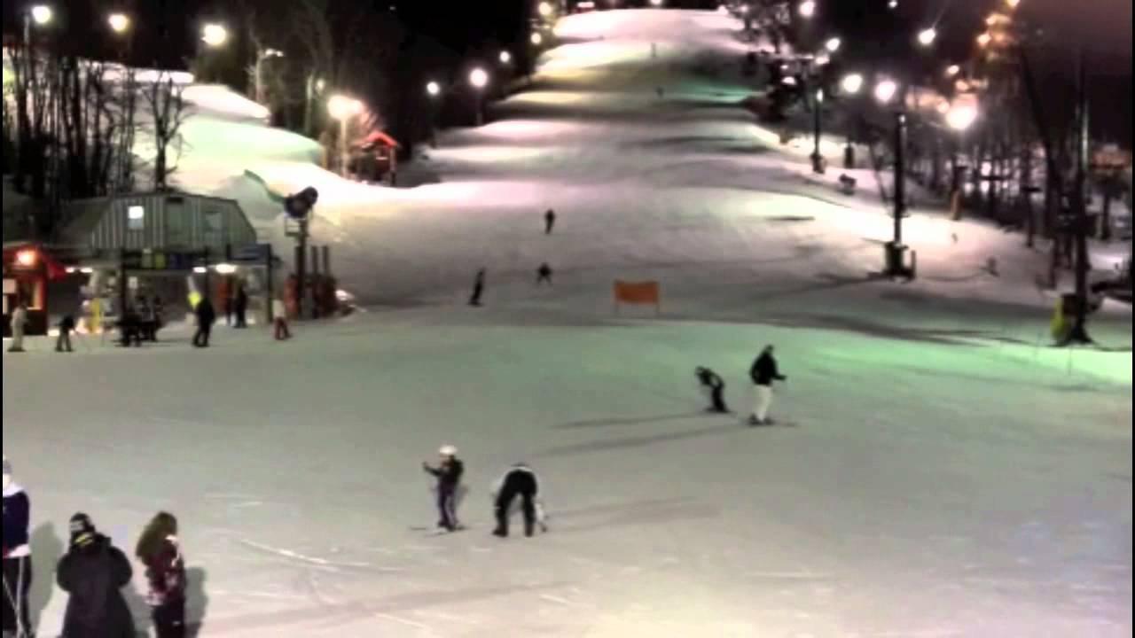 appalachian ski mountain blowing rock boys first time - youtube