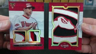 2016 Topps Triple Threads Baseball 9 Box Case Break #33