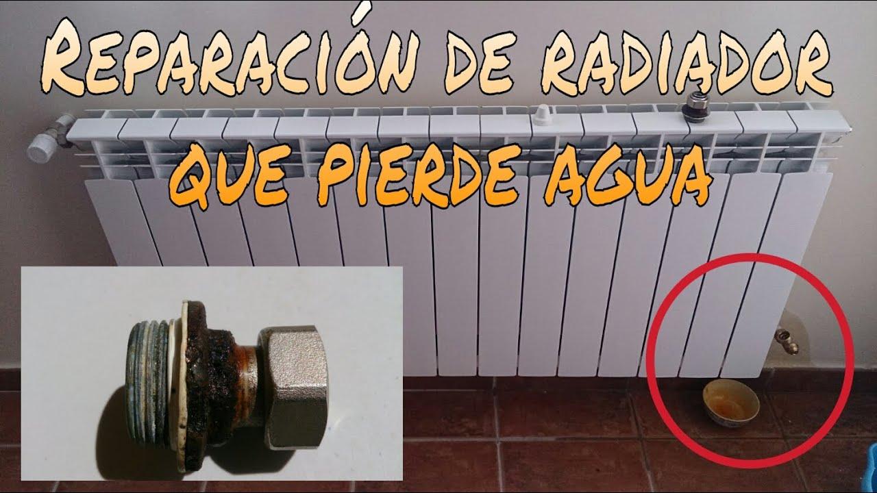 C mo reparar un radiador que gotea funnycat tv for Como reparar llave de ducha que gotea