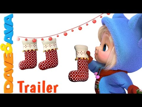 🎄 Deck the Halls - Trailer | Christmas Songs for Kids | Christmas Songs from Dave and Ava🎄