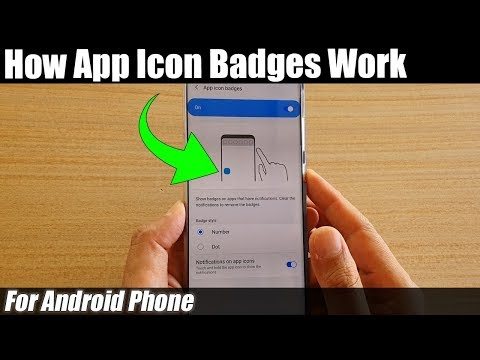 How App Icon Badges Works On Android Phones