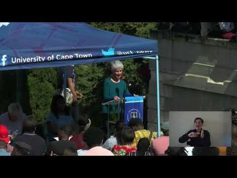 UCT Assembly, 1 November 2017