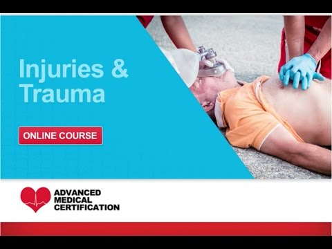 cpr, aed & first aid: injuries & trauma -