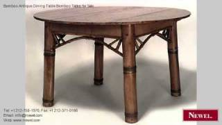 Bamboo Antique Dining Table Bamboo Tables For Sale