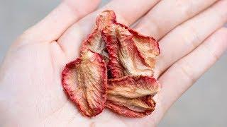 草莓乾做法 - 一口吃出戀愛的味道