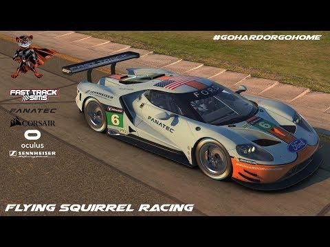 iRacing VR - IMSA Sports Car Race 17S3W2 @ Watkins Glen - Ford GT GTLM - #GoHardOrGoHome