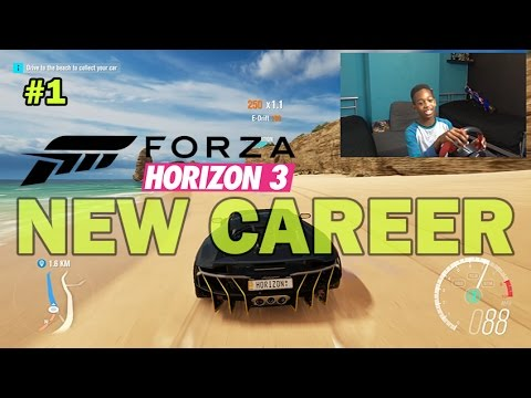 Im Way Better at Racing Than Football!! | Forza Horizon 3 Gameplay with Steering Wheel