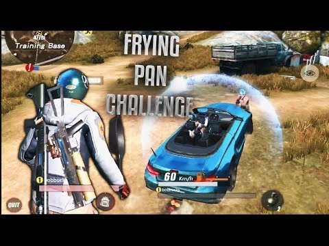 RULES OF SURVIVAL FRYING PAN CHALLENGE!! THIS IS IMPOSSIBLE!! (iOS/Android)