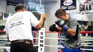 Abel Sanchez talks about preparing Golovkin for a May 5 fight