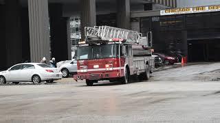 Chicago Fire Dept Truck 6 Responding