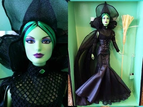 Barbie The Wizard of Oz Wicked Witch of the West Doll Review