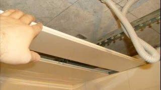 Реечный потолок своими руками видео(Реечный потолок своими руками видео Ванная комната -- зона повышенной влажности. Страдает, прежде всего,..., 2014-02-07T10:28:46.000Z)