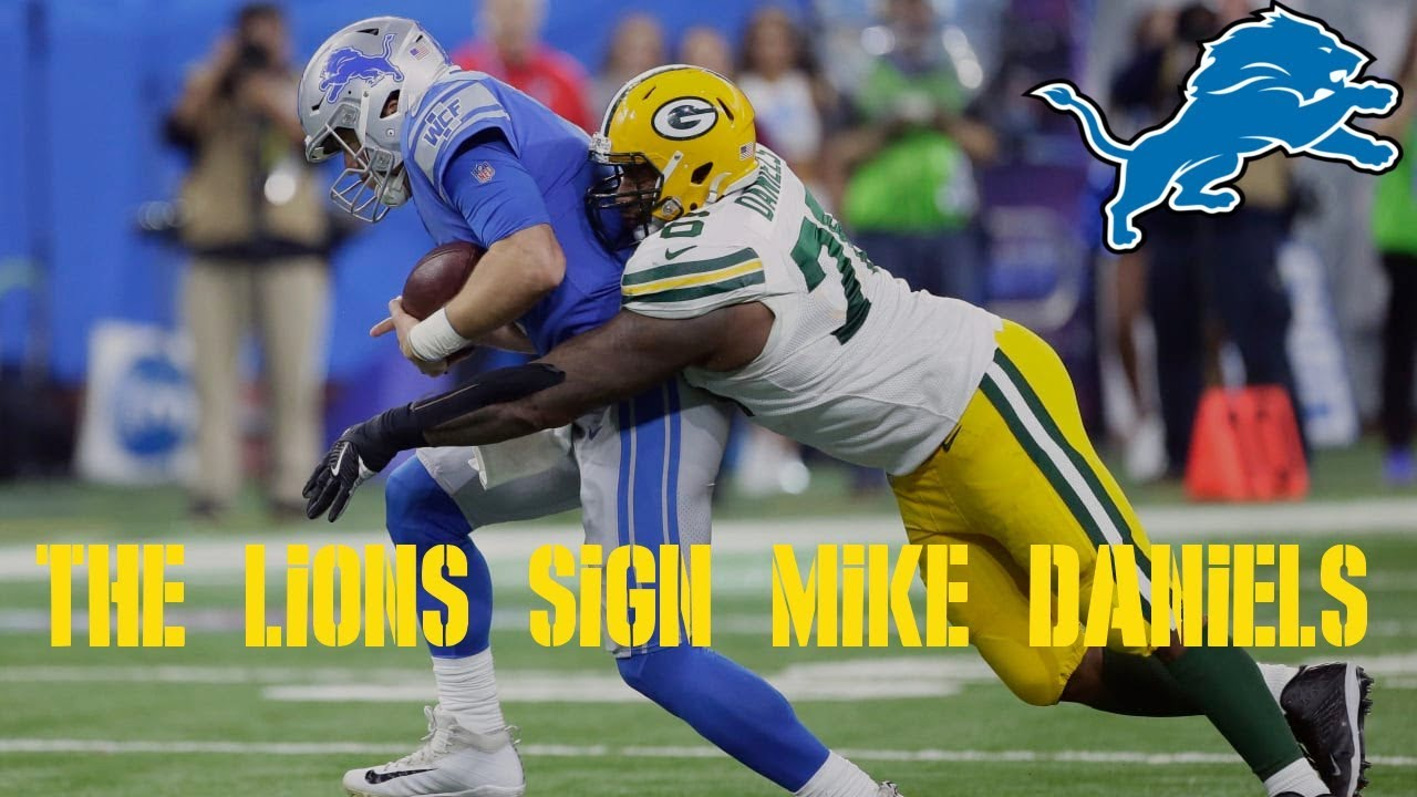 6dc54544 The Lions Sign Mike Daniels