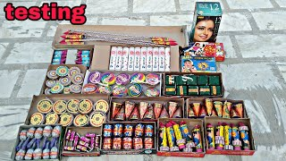 Testing crackers | Diwali Crackers testing 2019 | New Crackers of 2019