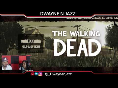 SHE IS A SAVAGE!! | Jasmine Plays The Walking Dead Season 1 Episode 1 & 2 Gameplay