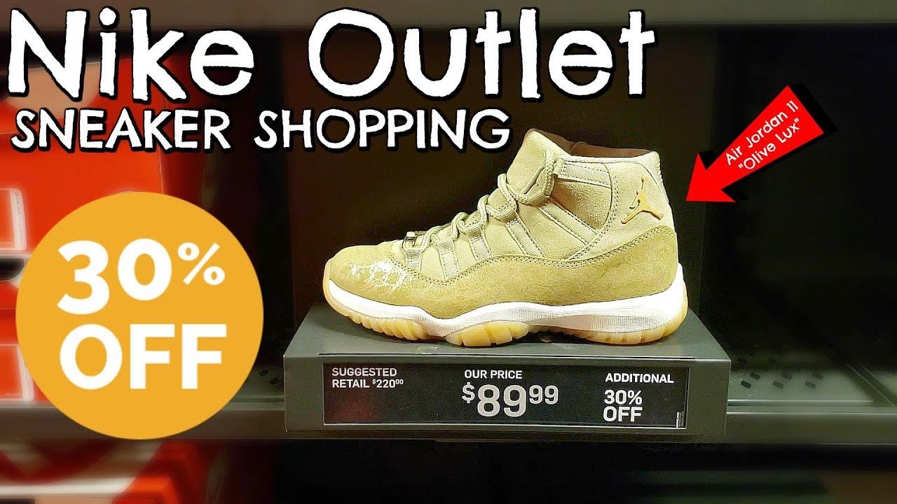Air Jordan 11 at Nike Outlet! | SNEAKER