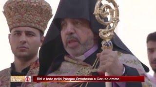Riti e fede nella Pasqua Ortodossa a Gerusalemme