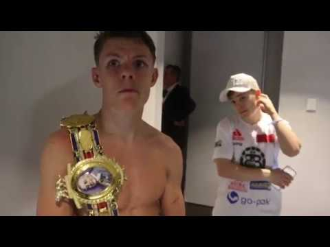 AND THE NEW! - CHARLIE EDWARDS CAPTURES BRITISH TITLE AFTER BEATING IAIN BUTCHER IN GLASGOW