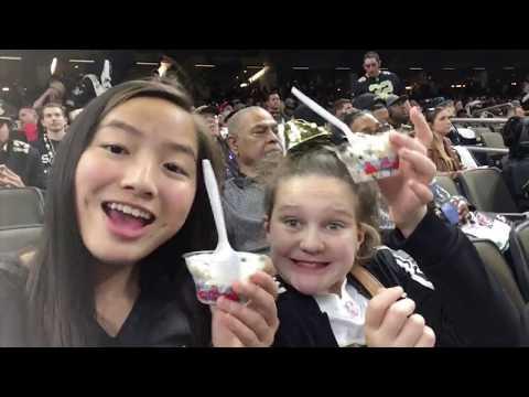 Saints Game - Vlog 1 | Mary Rose Neumeyer