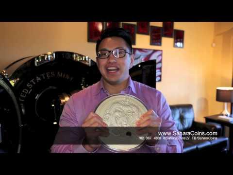 Bullion Coin - Australian 10 Kilo 2012 Year of The Dragon Silver Coin