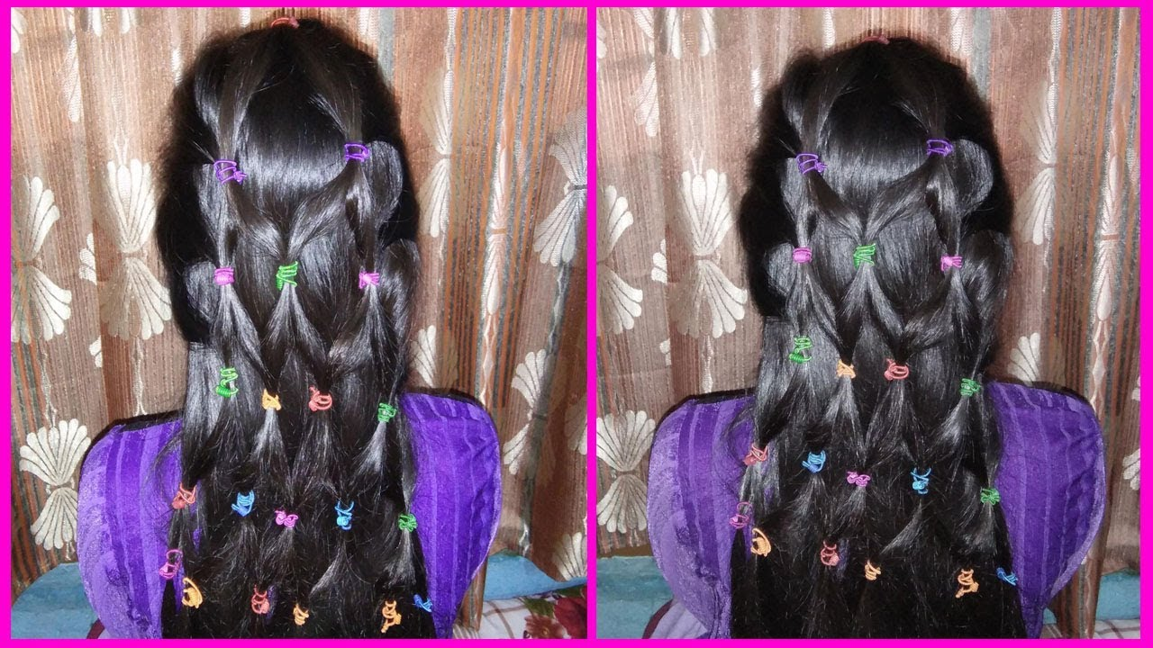 new hairstyle 2018 / diy barbie hairstyle video for girl - youtube