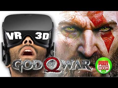GOD Of WAR 4 - VR Gameplay Trailer Part 1 - Developer Walkthrough PS4