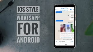 Download lagu Get iPhone Like Whatsapp on Android | IOS 13 Whatsapp Apk Download