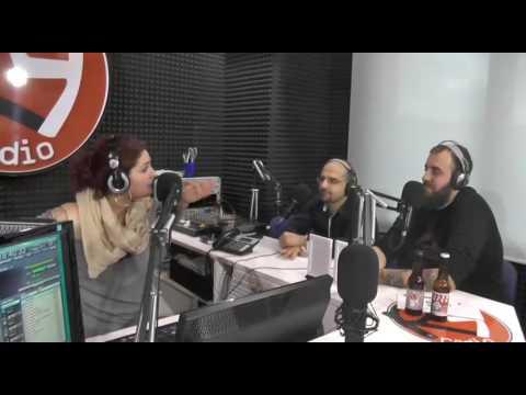 Facce da Radio insieme al titolare del BIRRITROVO di Porto D'Ascoli