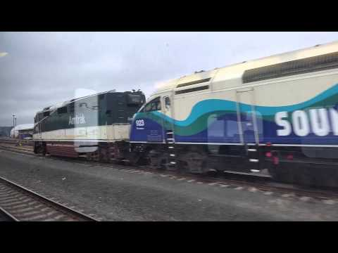 Onboard Sounder Commuter Train