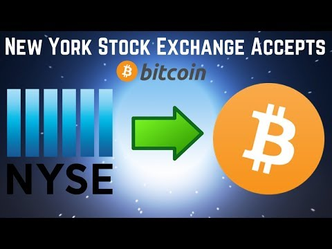New York Stock Exchange STARTING BITCOIN EXCHANGE With Futures!