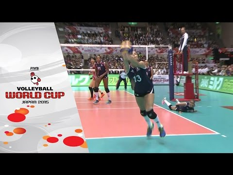 Japan's spikers overpower Peruvian defence