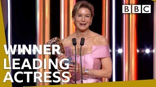 BAFTA's: Renée Zellweger wint award voor beste actrice, bekijk haar speech