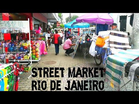 Street Market - Rio de Janeiro - Brazil - Vlog Hindi