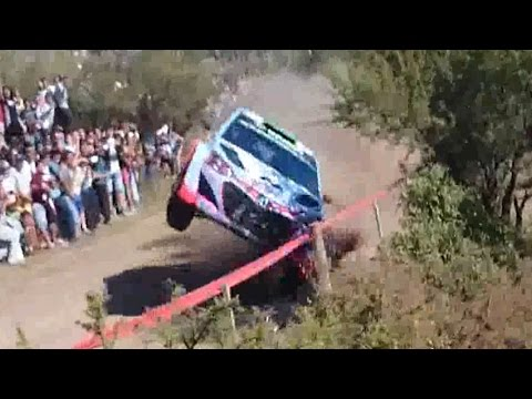 Accidente Rally Argentina 2015 | WRC Hyundai Hayden Paddon Big Crash | OJO Video Impactante