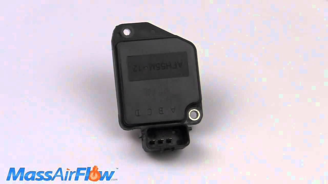 nissan d frontier mass air flow sensor maf afhm s nissan d21 frontier mass air flow sensor maf afh55m 12 16017 1s710