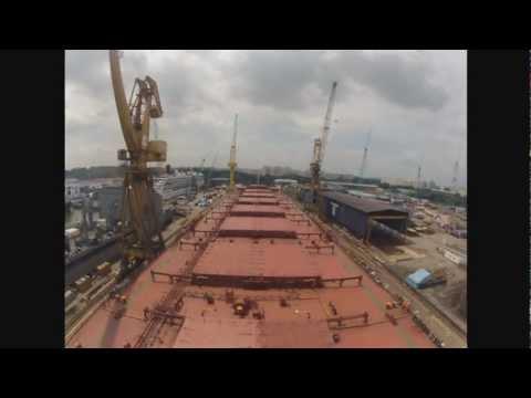 Singapore Drydock Time Lapses