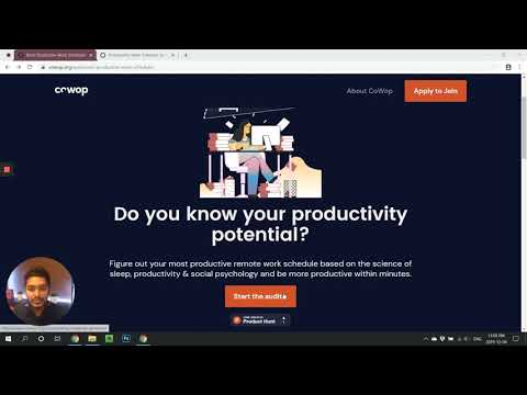 Most Productive Work Scheduler by CoWop Review thumbnail