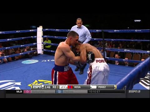 Luis Rosa vs Jonathan Perez full fight 15.05.2015 Louise ShCotton