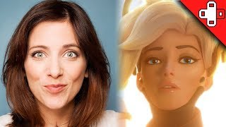 Overwatch Behind the Voice - Lucie Pohl is Mercy's Voice Actress