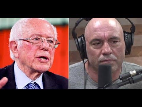 Joe Rogan Semi-Endorses Bernie & Elite Media Goons Flip