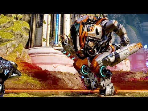 Paragon Gameplay | Greystone's Face Action, Riktor's Abandonement & Howitzer's EPIC Clutch!