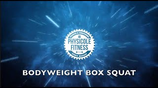Bodyweight Box Squats