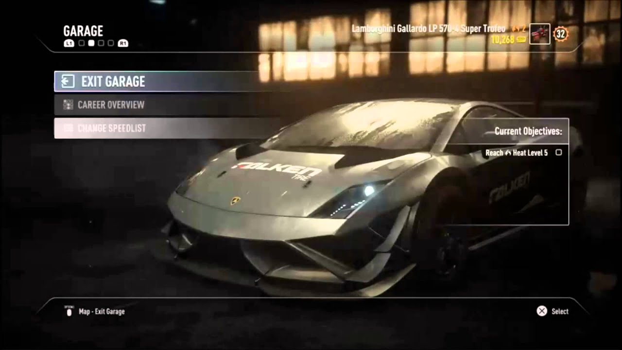 Need For Speed Rivals Lamborghini Gallardo Super Trofeo