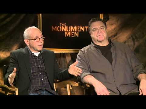 The Monuments Men: John Goodman and Bob Balaban Interview | Empire Magazine