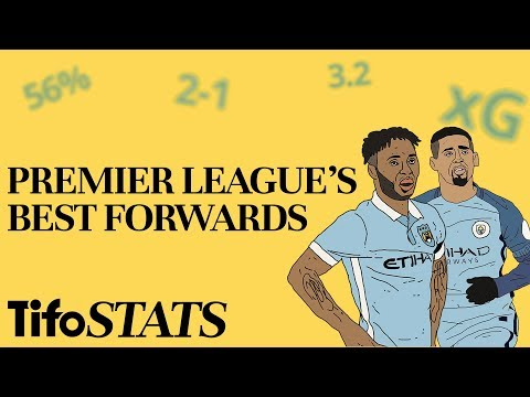 Premier League's Best Forwards | By The Numbers