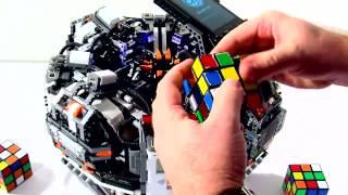 Кубик Рубика робот побил рекорд человека  прикол любовь жесть ржака порно сиськи челен жопа this is