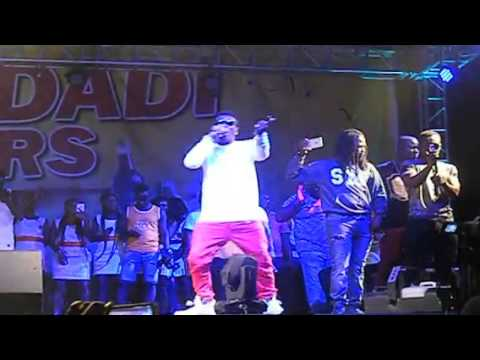 Shatta Wale perform live at Koforidua Joy Youth Party concert