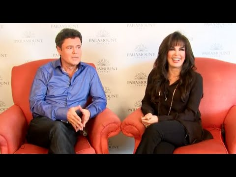 The Great Entertainers Donny & Marie Osmond