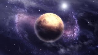 nebulae space scene - backgroundvideo 4